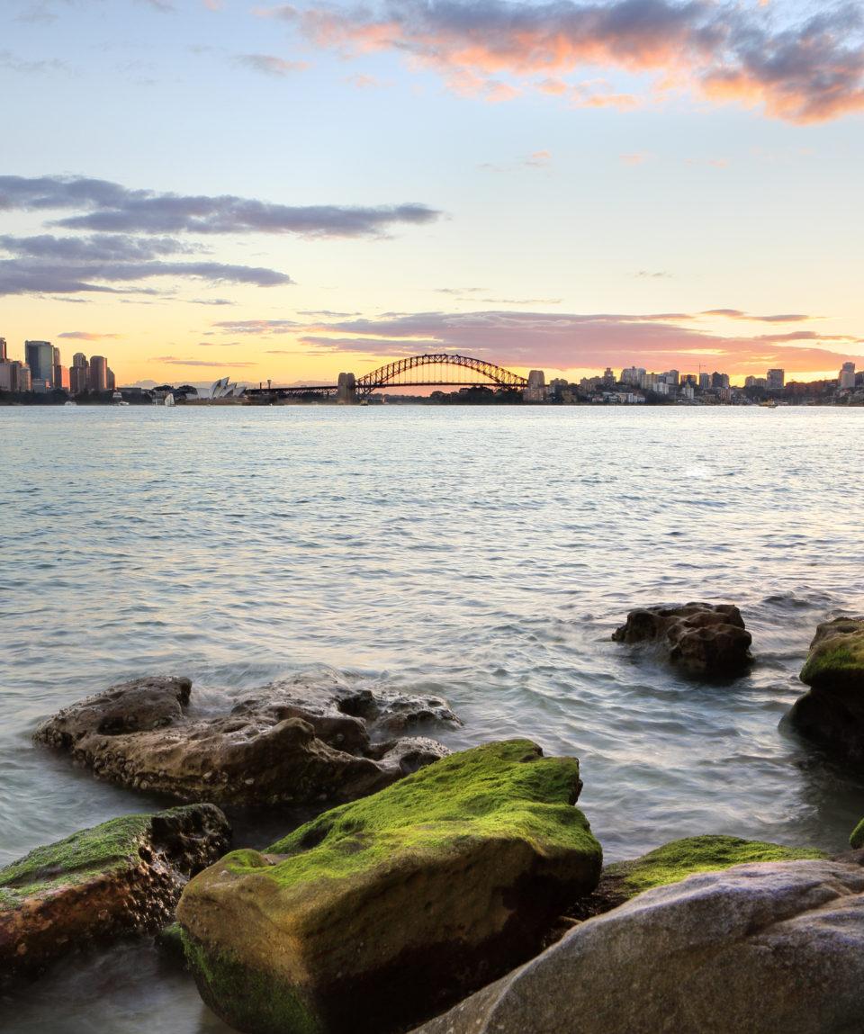 Bradleys Head views of Sydney and North Sydney