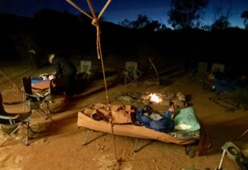 Larapinta sleep out